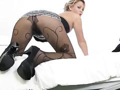 babe, blonde, masturbation, pantyhose, petite girls, upskirt