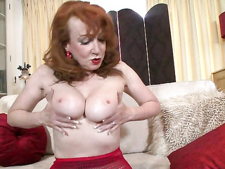 erotic porn, fetish, mature, mom, pantyhose, red head