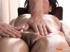 asian, babe, massage, masseur