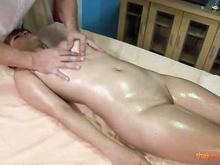 asian tits massage