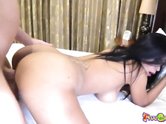 amateur, asian, bar, big tits, girlfriend, public