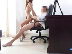 asian, ass, bubble butt, casting