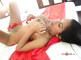 aian, big dick, big tits, individual model, undressing