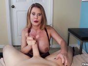 sexy mom handjob