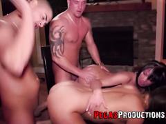 couple, drunk, gangbang, group sex, hardcore, orgy