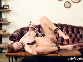 handcuffed chain bondage
