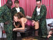 hungarian girl interracial army