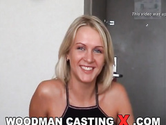 adorable, amateur, blonde, casting, rough sex