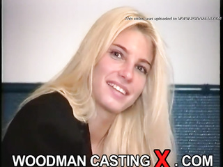 young hungarian blonde casting