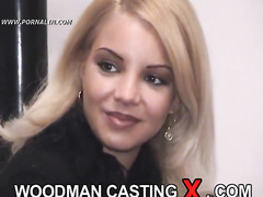 amateur, audition, blonde, casting, rough sex