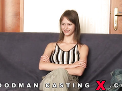 abricotpussy, amateur, casting, rough sex, spanking