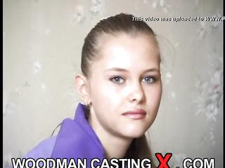 slim russian anal casting