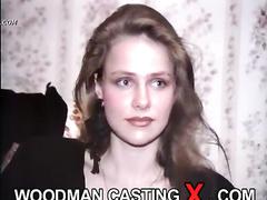 amateur, apartment house, brunette, casting, rough sex