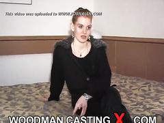 amateur, audition, casting, red head, rough sex